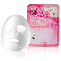 3W Clinic Тканевая маска для лица с коллагеном Fresh Collagen Mask Sheet, 23 гр
