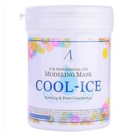 Маска альгинатная охлаждающая Anskin Original Cool-Ice Modeling Mask, 700 мл