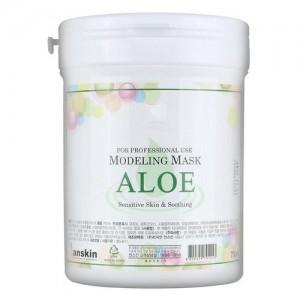 Маска альгинатная с алоэ Anskin Original Aloe Modeling Mask, 700 мл
