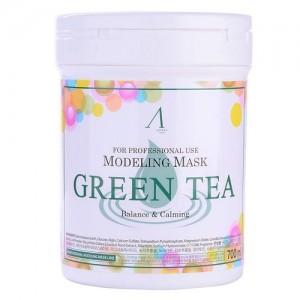 Маска альгинатная с зеленым чаем Anskin Original Green Tea Modeling Mask, 700 мл