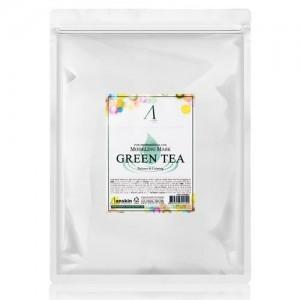 Маска альгинатная с зеленым чаем Anskin Original Grean Tea Modeling, 1 кг