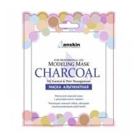 Anskin Маска альгинатная для расширенных пор Charcoal Modeling Mask, 25 гр