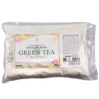 Anskin Маска альгинатная с зеленым чаем Green Tea Modeling Mask, 240 гр