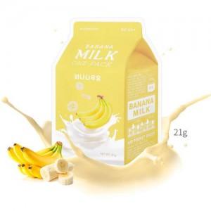A'pieu Маска для лица тканевая Banana Milk One-Pack, 21 гр