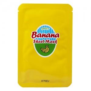A'pieu Маска тканевая с бананом и медом Banana & Honey Sheet Mask, 23 гр