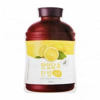 A'pieu Маска для лица тканевая Fruit Vinegar Sheet Mask (Lemon), 20 гр