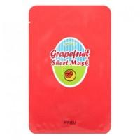 A'pieu Маска тканевая с грейпфрутом и газировкой Grapefruit & Sparkling Sheet Mask, 23 гр