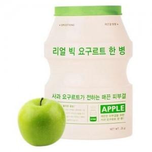 A'pieu Маска тканевая йогуртная с яблоком Real Big Yogurt One Bottle (Apple), 21 гр