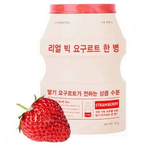 A'pieu Маска тканевая йогуртная с клубникой Real Big Yogurt One Bottle (Strawberry), 21 гр
