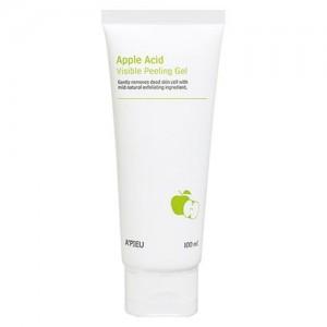 A'pieu Пилинг-гель для лица яблочный Apple Acid Visible Peeling Gel, 100 мл