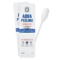 Очищающая палочка для лица с АНА-кислотами A'pieu Aqua Peeling Cotton Swab (Intensive)
