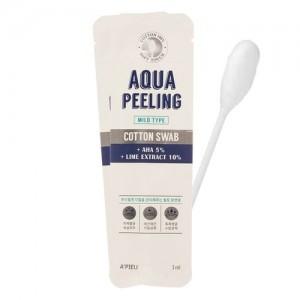 Очищающая палочка для лица с АНА-кислотами A'pieu Aqua Peeling Cotton Swab (Mild)