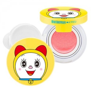 A'pieu Румяна-Кушон для лица Doraemon Air-Fit Cushion Blusher, 10 гр
