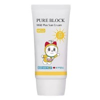 A'pieu Крем солнцезащитный Doraemon Pure Block Mild Plus Sun Cream SPF32/PA++, 50 мл