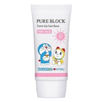 A'pieu Крем солнцезащитный Doraemon Pure Block Tone-Up Sun Base SPF50+/PA+++, 50 мл