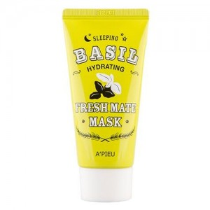 Ночная увлажняющая маска для лица A'pieu Fresh Mate Basil Mask (Hydrating), 50 мл