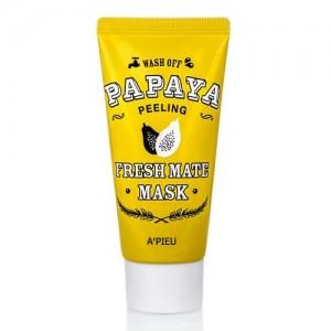 Очищающая маска для лица с папайей A'pieu Fresh Mate Papaya Mask (Peeling), 50 мл