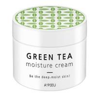 A'pieu Крем для лица увлажняющий Green Tea Seed Moisture Cream, 110 мл