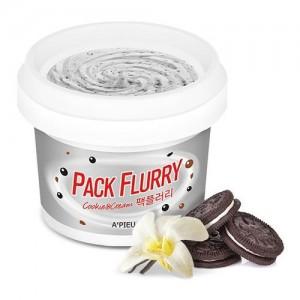 A'pieu Маска-скраб для лица 'Печенье со сливками' Pack Flurry (Cookie and Cream), 130 гр