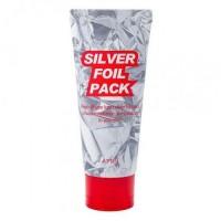 A'pieu Маска-пленка для лица серебряная Silver Foil Pack, 60 мл