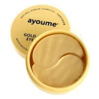 Ayoume Гидрогелевые патчи для глаз антивозрастные с золотом и улиточным муцином Gold & Snail Eye Patch, 60 шт