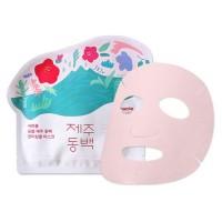 Ciracle Маска для лица тканевая от морщин Jeju Camellia Flower Anti-Wrinkle Sheet Mask, 21 гр