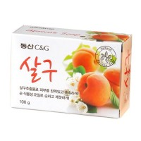 Clio Мыло туалетное абрикосовое Apricot Soap, 100 гр