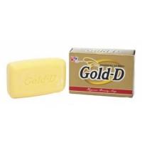 Clio Мыло туалетное антибактериальное Gold-D Soap, 100 гр