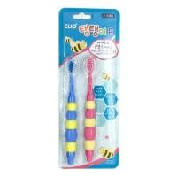 Clio Набор детских зубных щеток Tangtani Normal, 2 шт