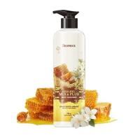 Deoproce Гель для душа с медом и жасмином Healing Mix & Plus Body Cleanser Honey White Jasmine, 750 мл