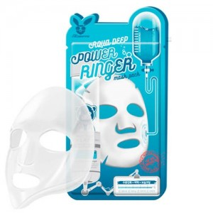 Elizavecca Тканевая маска для лица увлажняющая Aqua Deep Power Ring Mask Pack, 23 гр