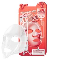 Elizavecca Тканевая маска для лица с коллагеном Collagen Deep Power Ringer mask pack, 23 мл