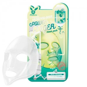 Elizavecca Тканевая маска для лица с экстрактом центеллы азиатской Centella Asiatica Deep Power Ringer Mask Pack, 23 гр
