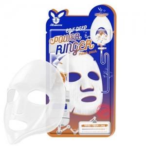 Elizavecca Тканевая маска для лица с эпидермальным фактором EGF Deep Power Ringer Mask Pack, 23 гр