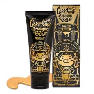 Elizavecca Маска-пленка золотая Hell-Pore Longolongo Gronique Gold Mask Pack, 100 мл