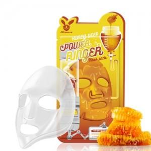 Elizavecca Тканевая маска для лица с медом Honey Deep Power Ringer Mask Pack, 23 гр