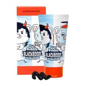 Elizavecca Маска для глубокого очищения пор с древесным углем Hell-Pore Bubble Black Boom, 150 мл