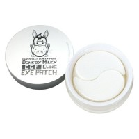 Elizavecca Биоцеллюлозные патчи для глаз Milky Piggy Donkey EGF Cling Eye Patch, 60 шт
