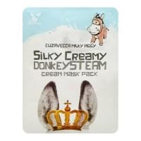 Elizavecca Тканевая маска с паровым кремом Silky Creamy Donkey Steam Cream Mask Pack, 25 гр