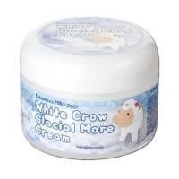 Elizavecca Крем для лица воздушный White Crow Glacial More Cream, 100 мл