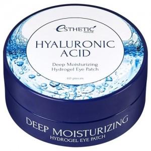 Esthetic House Гидрогелевые патчи для глаз с гиалуроновой кислотой Hyaluronic Acid Hydrogel Eye Patch, 60 шт