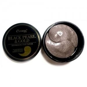 Esthetic House Гидрогелевые патчи для глаз с черным жемчугом и золотом Black Pearl & Gold Hydrogel Eye Patch, 60 шт