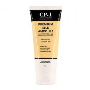 Esthetic House Несмываемая сыворотка для волос с протеинами шелка CP-1 Premium Silk Ampoule, 150 мл