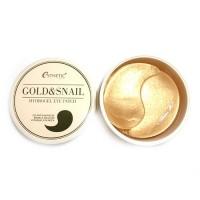 Esthetic House Гидрогелевые патчи для глаз с золотом и улиткой Gold & Snail Hydrogel Eye Patch, 60 шт