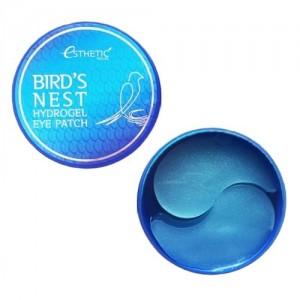 Esthetic House Гидрогелевые патчи для глаз с ласточкиным гнездом Bird's Nest Hydrogel Eyepatch, 60 шт