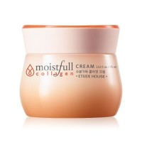 Etude House Крем для лица коллагеновый Moistfull Collagen Cream, 75 мл