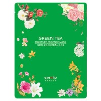 Eyenlip Маска для лица тканевая с зеленым чаем Green Tea Moisture Essence Mask, 25 гр