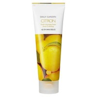 Holika Holika Очищающая пенка 'Дейли гарден', цитрус Daily Garden Citron Fresh Cleansing Foam From Goheung, 120 мл
