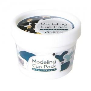 Inoface Альгинатная маска с углем Blackfood Modeling Cup Pack, 18 гр