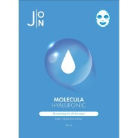 J:ON Тканевая маска для лица с гиалуроновой кислотой Molecula Hyaluronic Daily Essence Mask, 23 мл